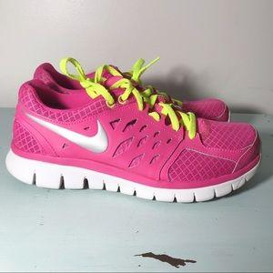 Nike Running Shoes Hot Pink Neon Women's Size 8.5